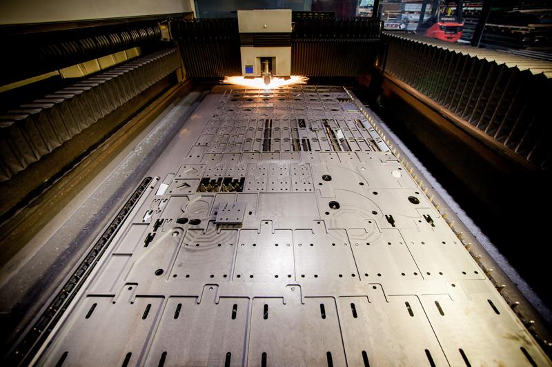 imbrication laser